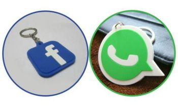 SuperDeals FB-WhatsApp Keychain