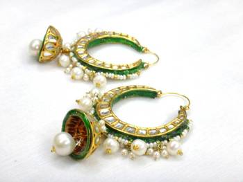 Madhubala chandlier Earings