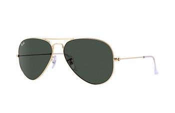 gold green Sunglasses