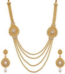 Buy Polki Design Bridal Necklace Set necklace-set online