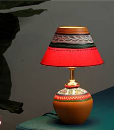 Buy Handcrafted terracota Lamp table-lamp online