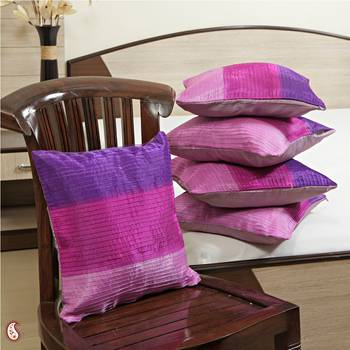 Delicate silk Cushion covers