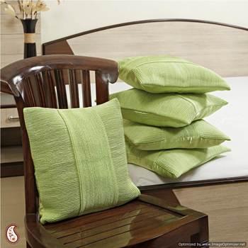 Designer silk cushion covers