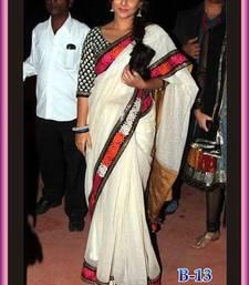 Buy Bollywood Replica Vidhya Balan Chiffon Saree vidya-balan-saree online