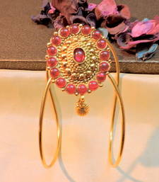 Buy gold plated classy traditional bajuband bajuband online