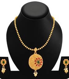 Buy Green polki necklace sets necklace-set online