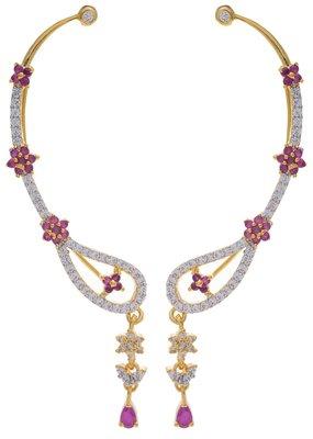 Gold Brass Jhumki Earrings for Women