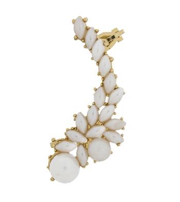 Designer pearl studded ear cuff