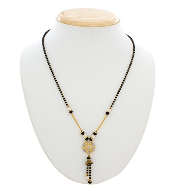 Designer pearl studded beautiful mangalsutra