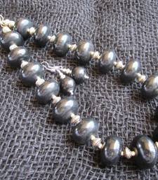 Buy Black stone necklace-sets necklace-set online
