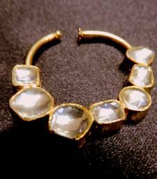 Buy bajiraw mastani kundan gold plated nosering nose-ring online
