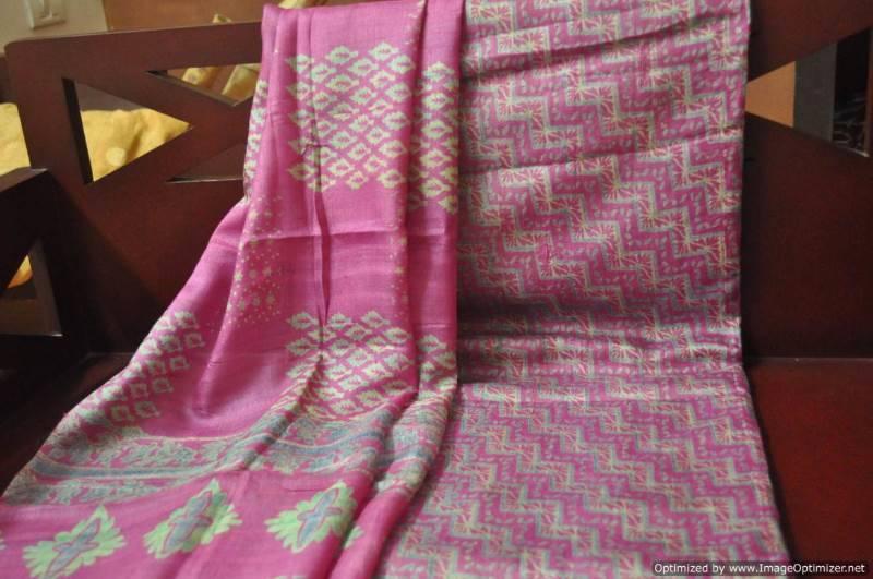 Buy Tussar Silk Salwar Set Online