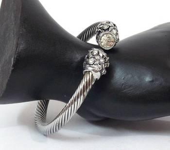 Stylish And Trendy Silver Bracelet