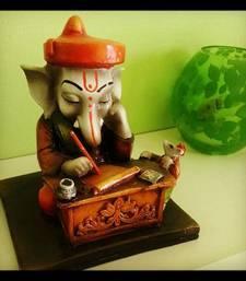 Buy Muniyam Ganesha Reading Book sculpture online