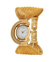 Buy Gold Metal watches for women watch online