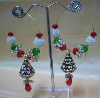 Unique Meenakari Earring