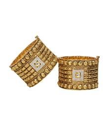 Buy gold plated bangles and bracelets bangles-and-bracelet online