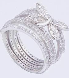 Buy Silver Cubic Zirconia rings Ring online