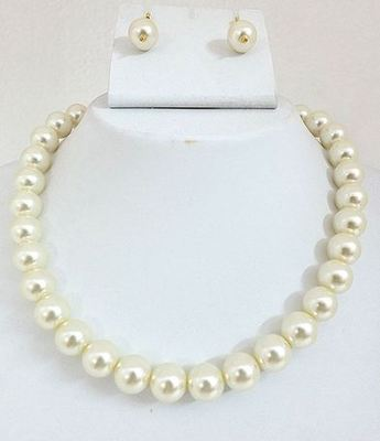 Shell Pearl Mala medium size