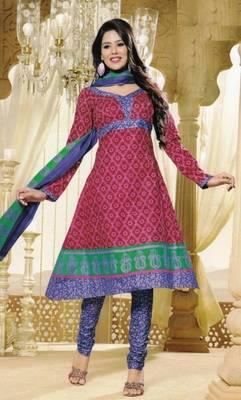 Dress Material Elegant Cotton Printed Unstitched Salwar Kameez Suit D.No M1601