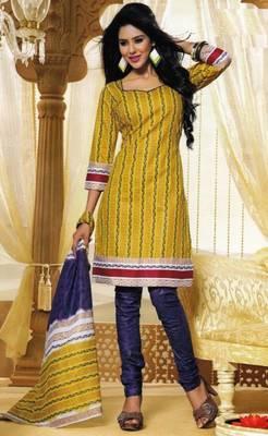 Dress Material Elegant Cotton Printed Unstitched Salwar Kameez Suit D.No M1631