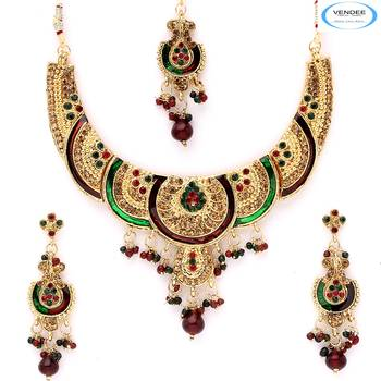 Vendee Wedding wear necklace set