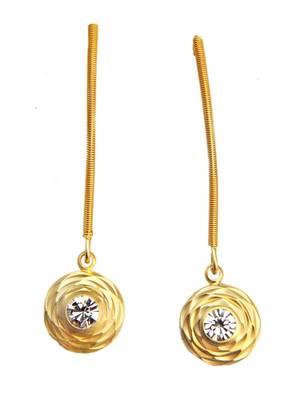 Stylish American Diamond Office Diva Hangings