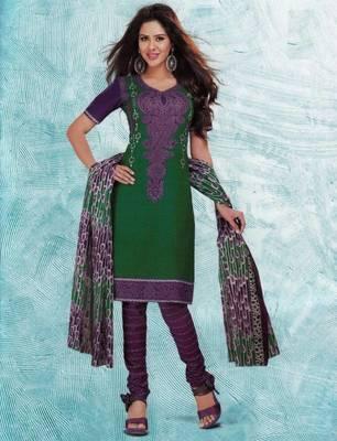 Dress material cotton designer prints unstitched salwar kameez suit d.no 4423