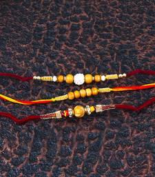 Buy Sandalwood rakhi combo sandalwood-rakhi online