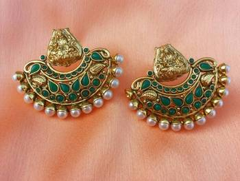 lovely temple earrings