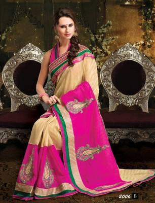 Designer Khadi Silk Saree