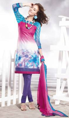 Cotton Embellished Salwar kameez Dress Material SC8129C