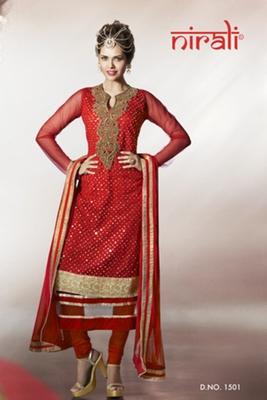 Esha Gupta Nirali Suits 1501