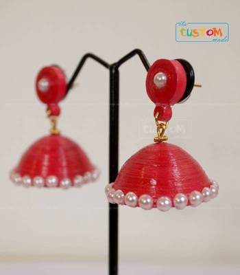 Quilled Paper Jhumka