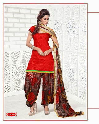 Chanderi / Cotton Silk Cotton Dress Material - DailyWear 003