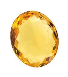Buy 6.25 carat certified yellow sapphire pukhraj gemstone loose-gemstone online