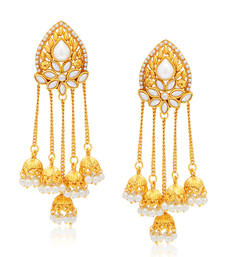 Buy Stunning Gold Plated Earring For Women danglers-drop online