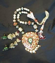 Buy Kundan Meena Jewellery designer-jewellery online