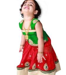 Buy Special kids wear lehenga with blouse traditional semi stitched lahenga choli kids-lehenga-choli online