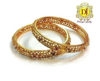 Pearl polki bracelets...2