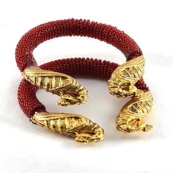 Colourful stretchable bangles