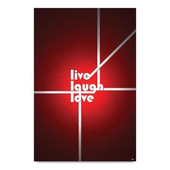 Live Laugh Love Quote Poster