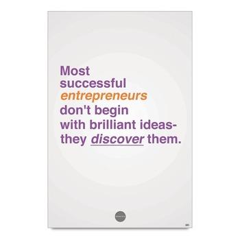 Successful Entrepreneurs Quote Poster