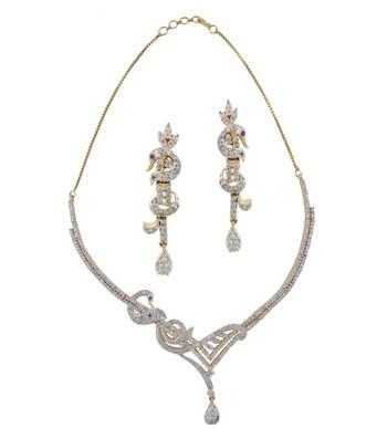Shimmering Diva Necklace Set