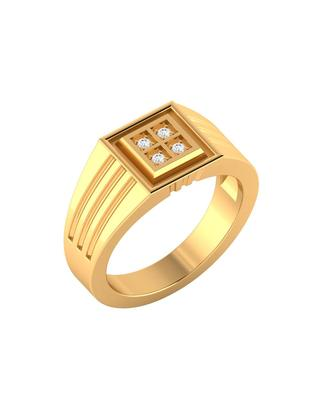 Gold Plated Sterling Silver Ring For Men