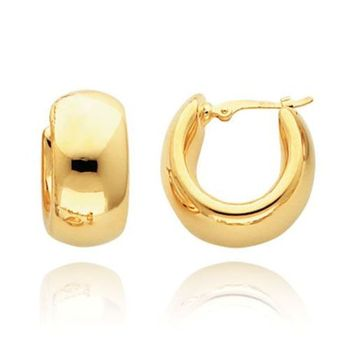 Cara sterling silver and certified Swarovski stone studded  Simple Gold platted Earrings for Women