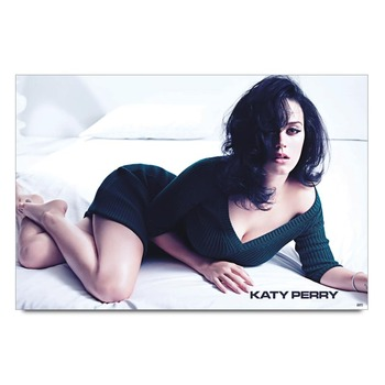 Katy Perry In Black Poster