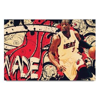 Dwyane Wade Nba Legends Poster