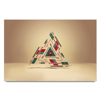 Triangle Graphic Art Poster