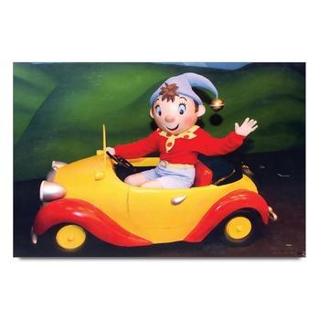 Noddy On Car   Poster